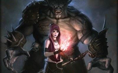 Dragon Age: Początek - motyw graficzny z gry /Informacja prasowa