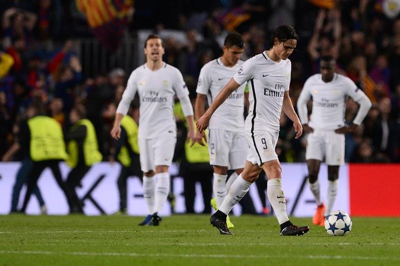Dramat piłkarzy PSG /AFP