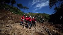 Dramatyczna akcja poszukiwawcza po przejściu tajfunu Mangkhut
