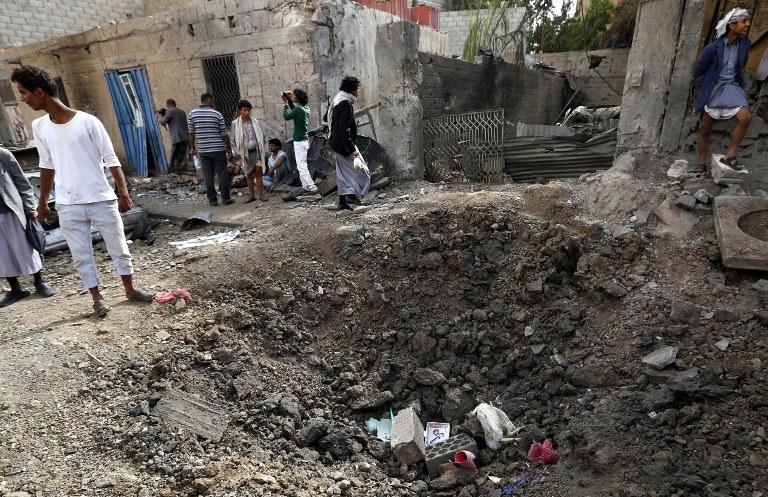 Dramatyczna sytuacja w Jemenie /AFP