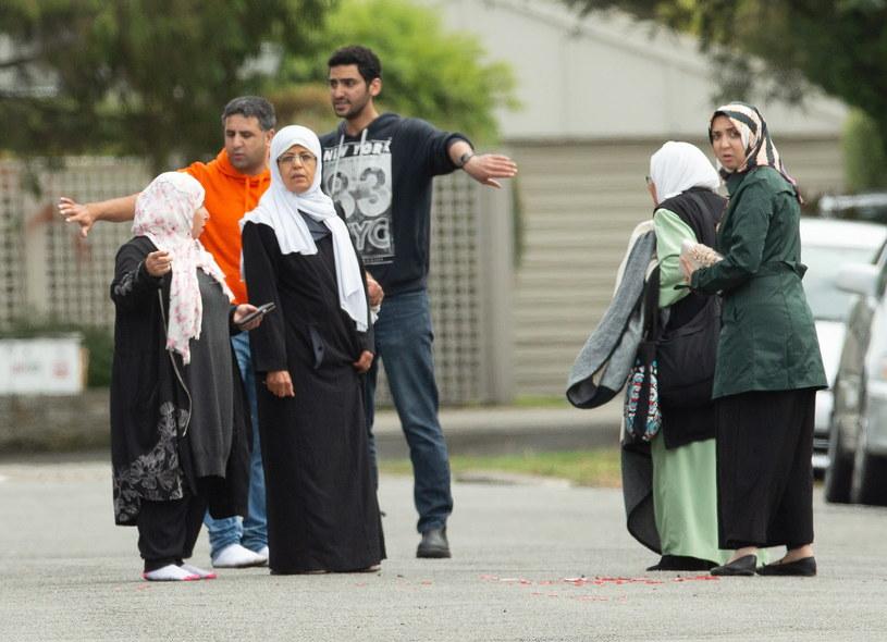 Dramatyczne ataki w Nowej Zelandii /Martin Hunter /PAP/EPA