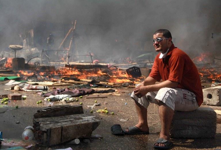 Dramatyczne chwile w Egipcie /AFP