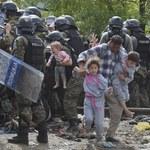 Dramatyczne sceny na granicy grecko-macedońskiej