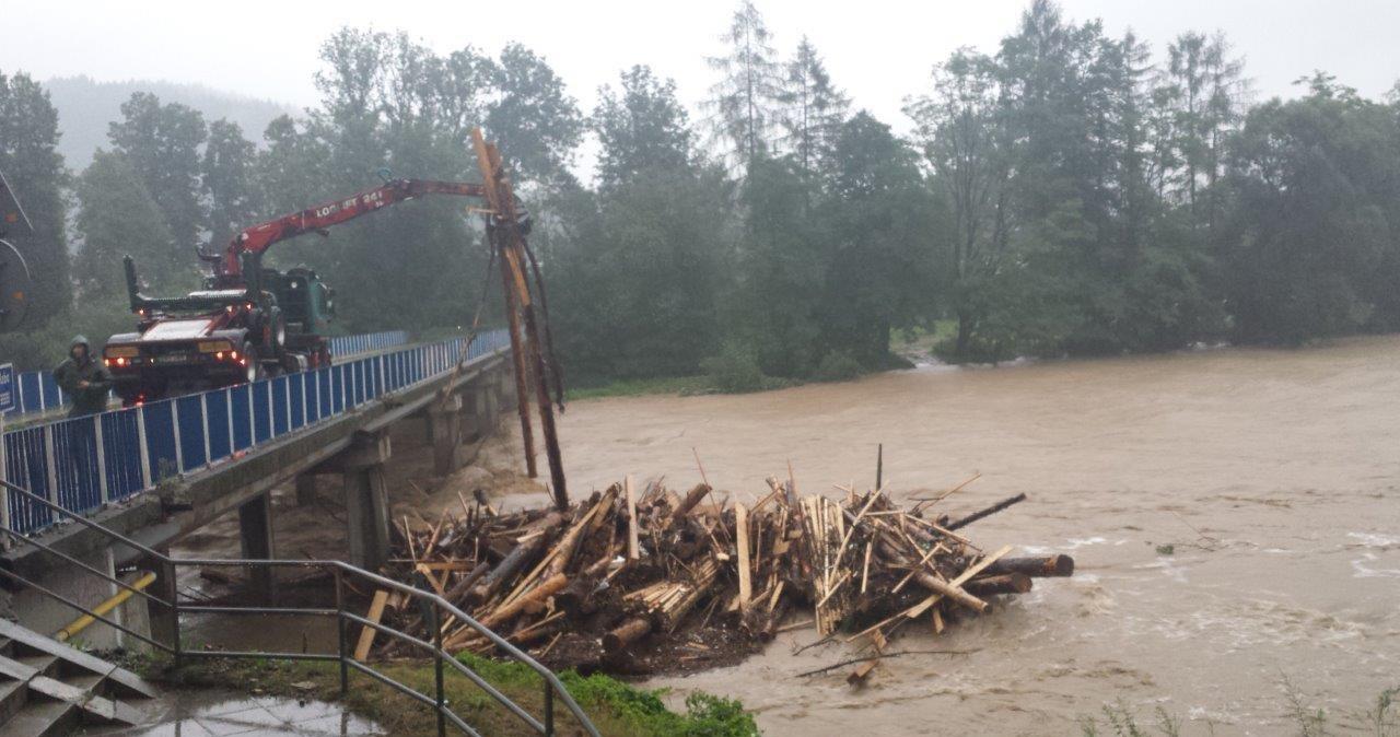 Dramatyczne skutki ulew w Małopolsce