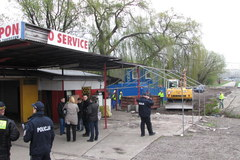 Dramatyczny przebieg eksmisji w Krakowie