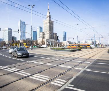 Dramatyczny spadek ruchu w Warszawie