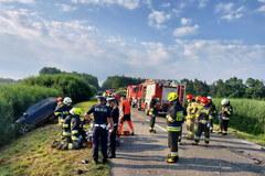 Dramatyczny wypadek w Łódzkiem