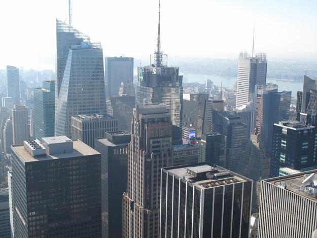 Drapacze chmur na Manhattanie /RMF