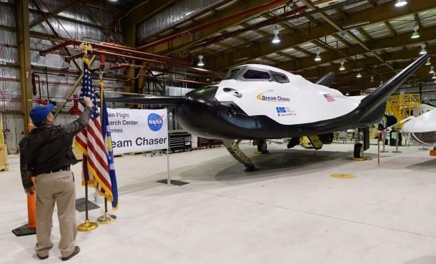 Dream Chaser zbudowany na bazie HL-10 /AFP