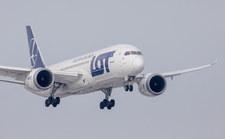 Dreamliner LOT awaryjnie lądował w Rosji