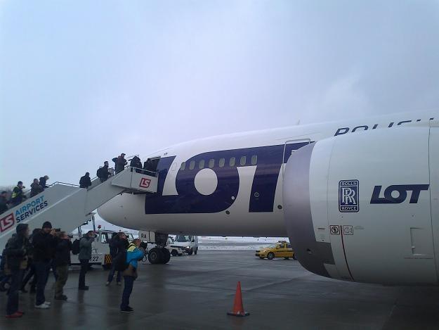 Dreamliner LOT-u - latający gruchot /INTERIA.PL
