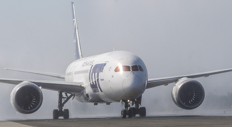 Dreamliner LOT-u /Krzysztof Kapica /East News