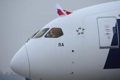 Dreamliner wylądował w Warszawie!