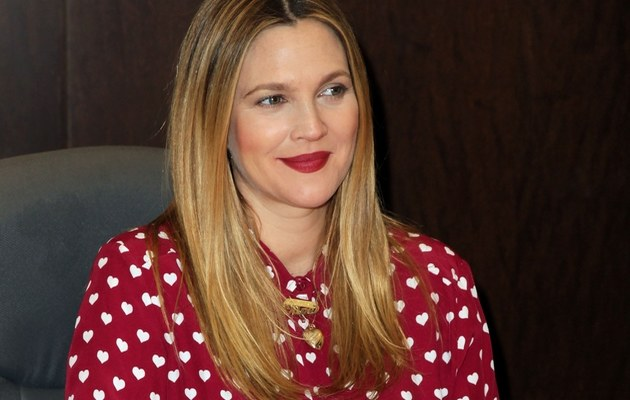 Drew Barrymore /- /Getty Images