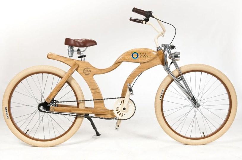 Drewniany rower na aukcjach WOŚP /wosp.org.pl