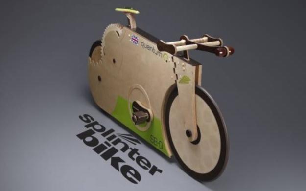Drewniany rower wygląda pięknie, ale to sztuka dla sztuki /materiały prasowe