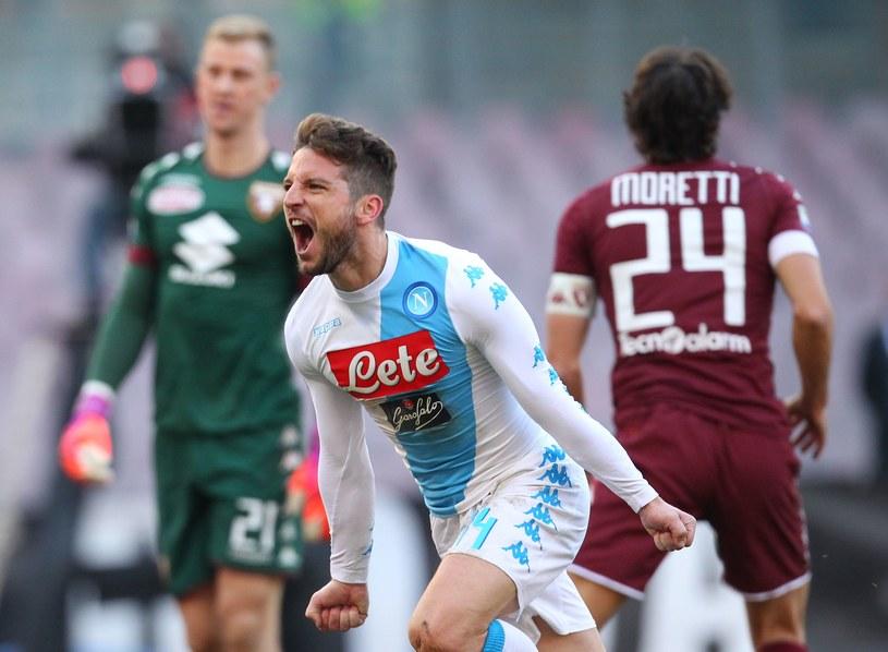 Dries Mertens zdobył cztery gole dla Napoli w meczu z Torino /AFP