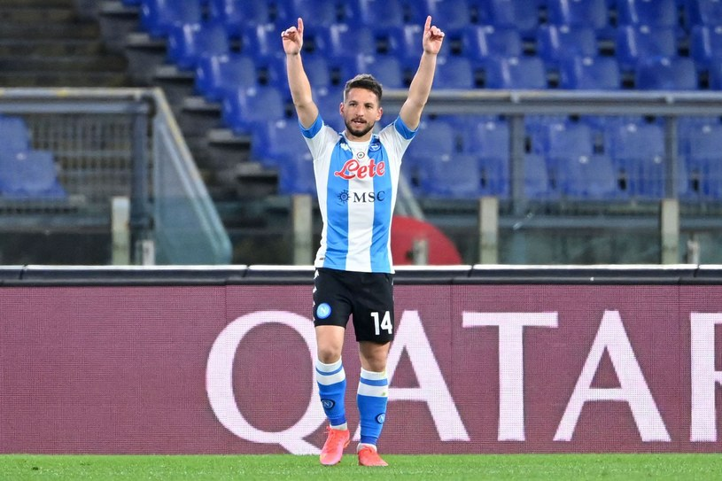 Dries Mertens /ALBERTO PIZZOLI /AFP