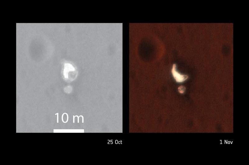 Drobne zmiany w ułożeniu spadochronu EDM /NASA