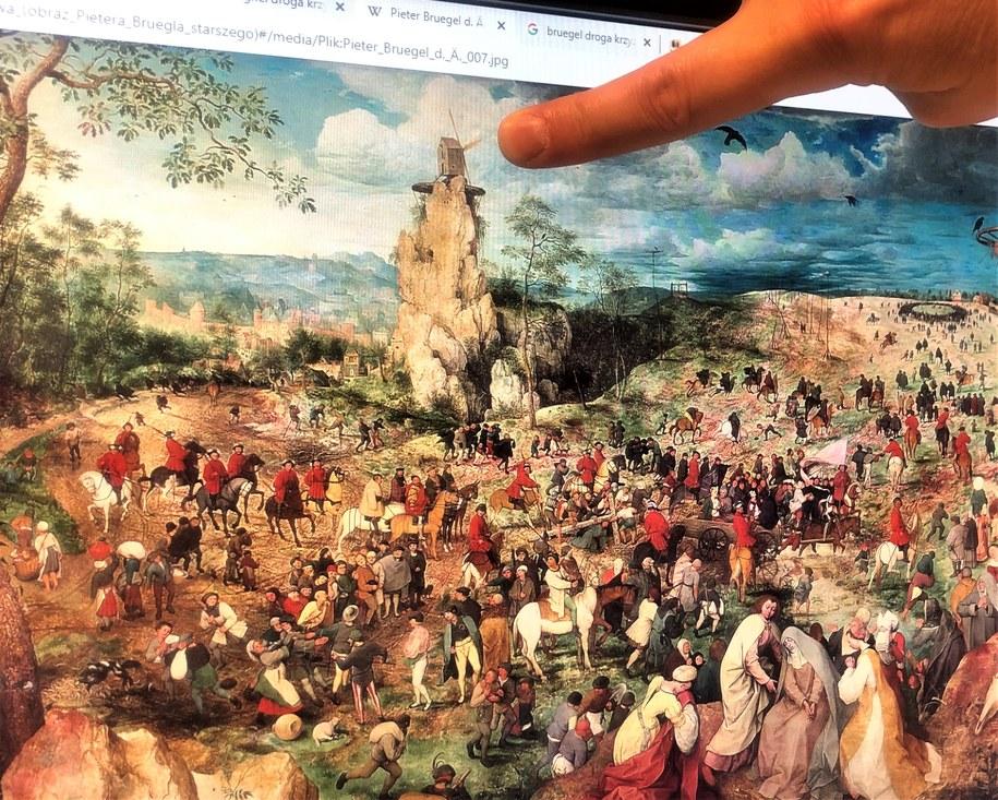 """""""Droga krzyżowa"""", obraz Pietera Bruegla starszego /RMF FM /"""