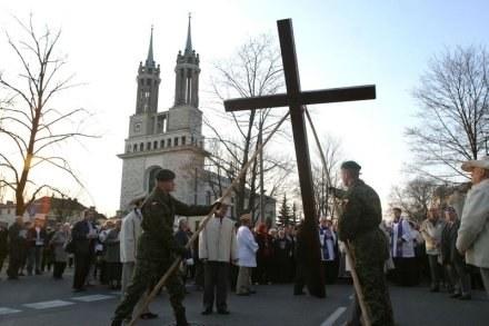Droga krzyżowa w Warszawie / fot. W. Traczyk /Agencja SE/East News