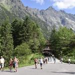 Droga Oswalda Balzera. Jedyna taka asfaltówka w Tatrach