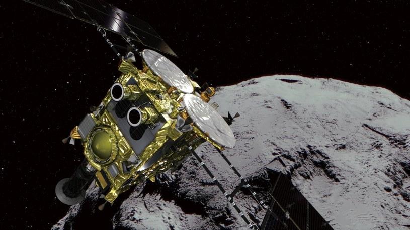 Droga powrotna na Ziemię zajmie mniej niż droga na planetoidę Ryugu /materiały prasowe