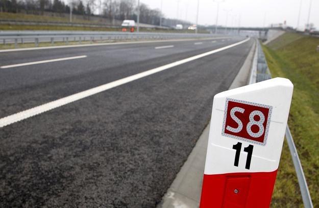 Droga S8 jest coraz dłuższa... / Fot: Andrzej Stawiński /Reporter