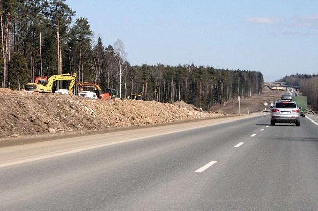 Drogi budujemy tylko do Euro... /INTERIA.PL