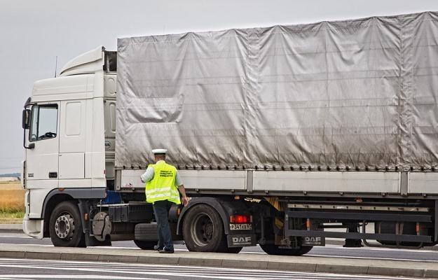 Drogi niszczą przeładowane ciężarówki / Fot: Andrzej Stawiński /Reporter