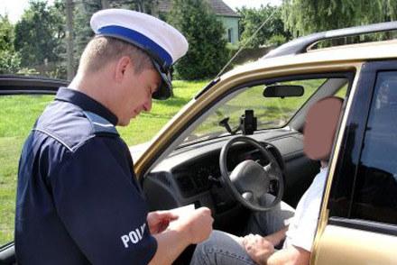 Drogówka nie może sprawdzać GPS /Policja