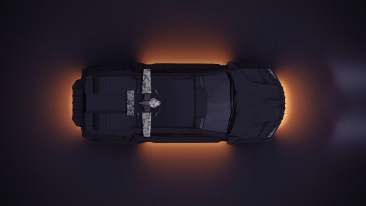 Dron Black Bee na samochodzie /materiały prasowe