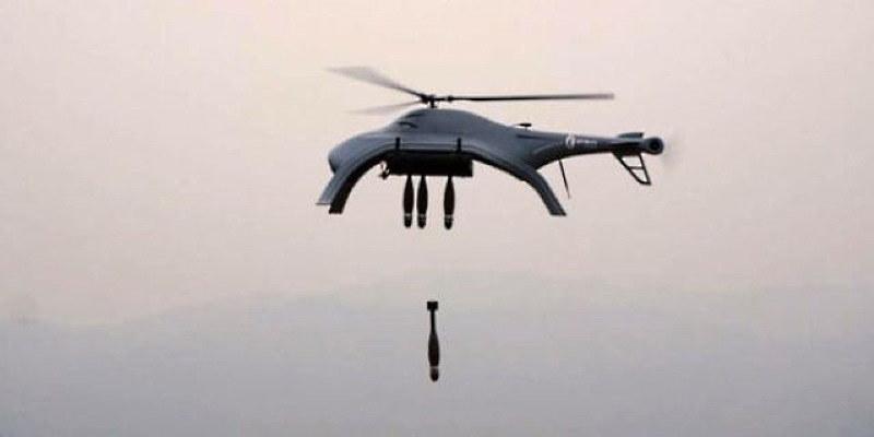 Dron Blowfish A3 podczas testów /materiały prasowe