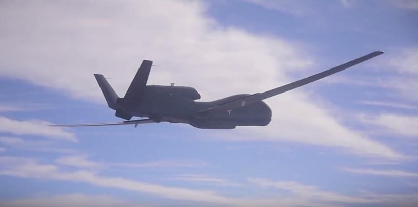 Dron Global Hawk /materiał zewnętrzny