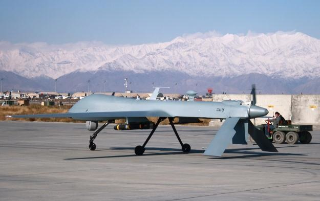 Dron Predator to prawdziwa maszyna do zabijania /AFP