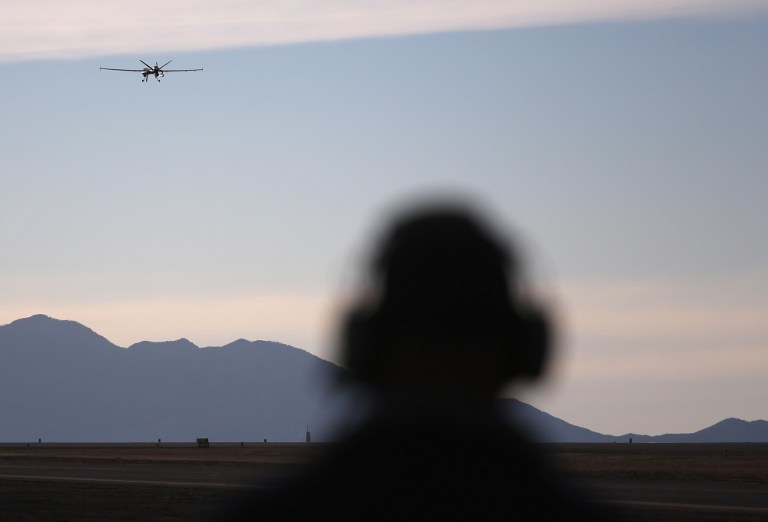 Dron typu Predator (zdj. ilustracyjne) /AFP