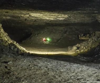 Dron uratuje górników