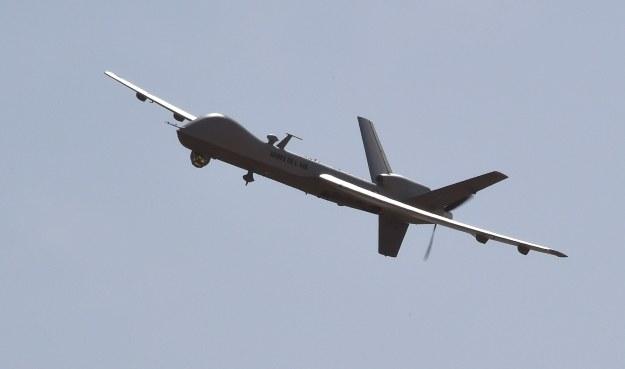 Dron (zdjęcie ilustracyjne) /AFP