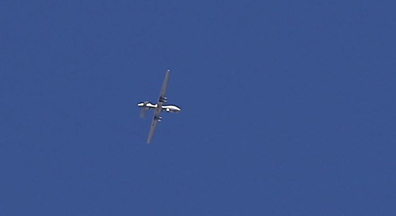 Dron (zdjęcie ilustracyjne) /THOMAS COEX /AFP
