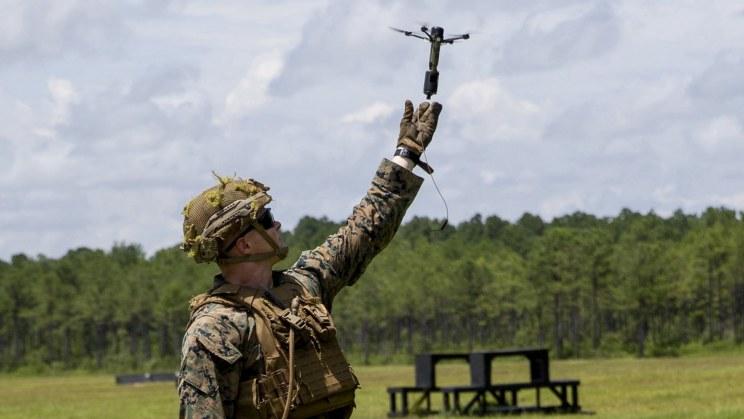 Drone40 podczas testów /materiały prasowe