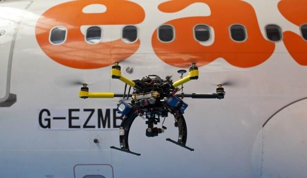 Drony będą skanować maszyny /materiały prasowe
