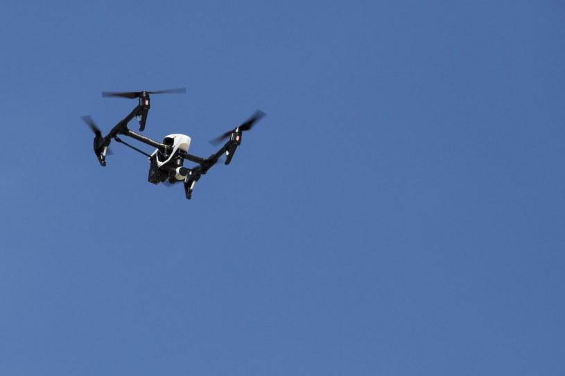 Drony mogą służyć Rosjanom do rozpoznania i koordynaty przyszłych celów (zdjęcie ilustracyjne) /Andrzej Hulimka  /Reporter