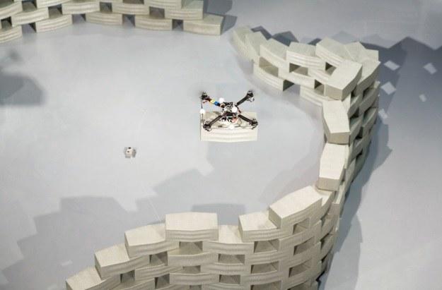 Drony pomogą w budownictwie? /materiały prasowe