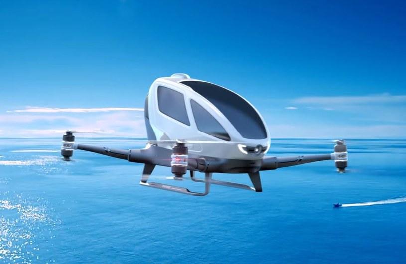 Drony załogowe to przyszłość transportu? /YouTube