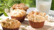 Drożdżowe muffinki z kruszonką
