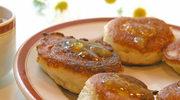 Drożdżowe placuszki z mąki gryczanej