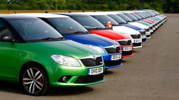 Druga generacja Fabii RS zadebiutowała w 2010 roku. /Skoda