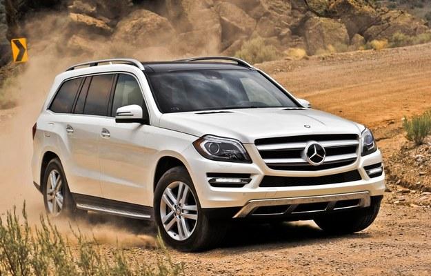 Druga generacja Mercedesa GL /Mercedes