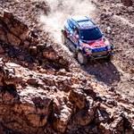 Drugi etap Rajdu Dakar: 5 przebitych opon Przygońskiego, zapalenie gardła Giemzy