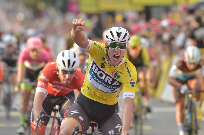 Drugi etap wygrał Pascal Ackermann /Łukasz Kalinowski /East News